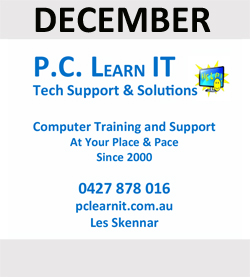 PC Learn IT - all your computer needs at your place and pace!