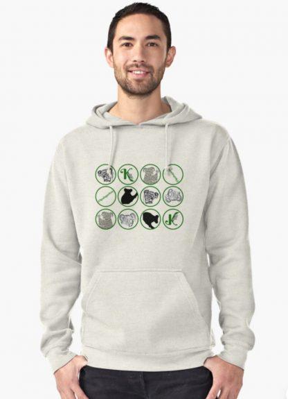 Mosaic of reasons to help save koalas by buying Koala Gardens merchandise