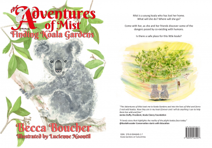The beautiful children's book, Finding Koala Gardens