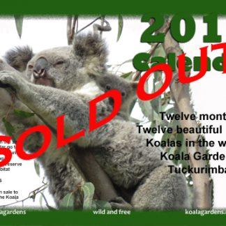 koala calendar sold out