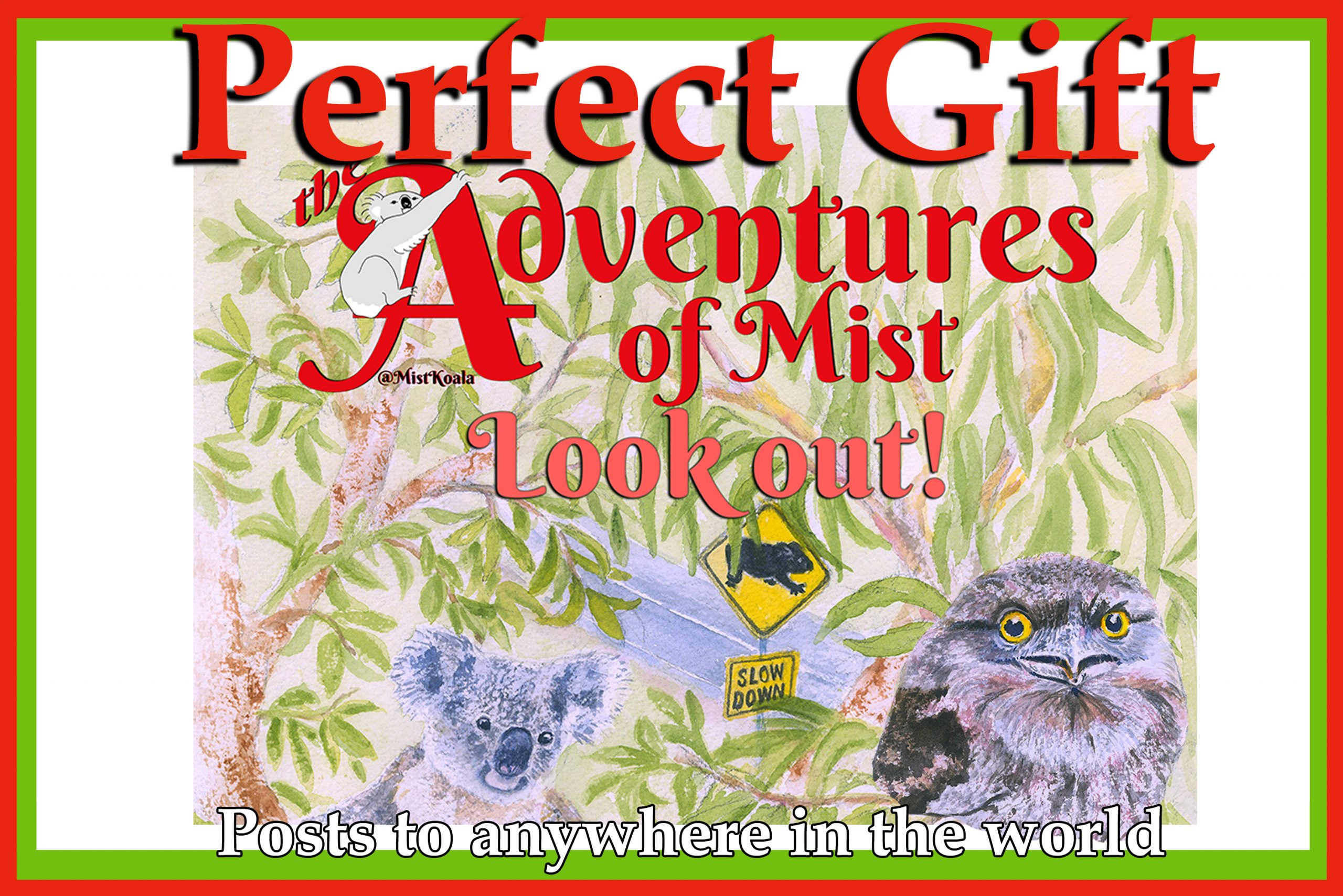 The adventures of Mist - Look out childrens book
