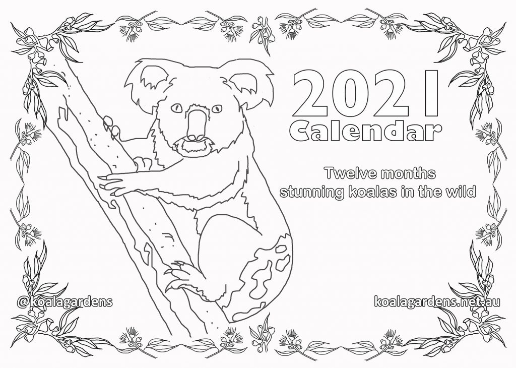 Colouring book 2021 Calendar on sale now