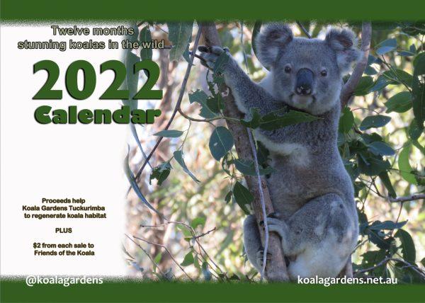 2022 Calendar for Koala Gardens