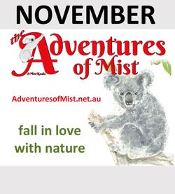 The Adventures of Mist are November Sponsor
