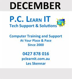 PC Learn IT are December Sponsor