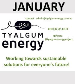 Tyalbum energy is January Sponsor