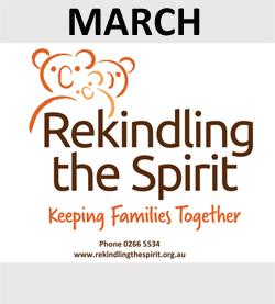 Rekindling the Spirit is March Sponsor