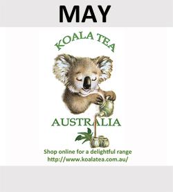 Koala Tea are May Sponsors