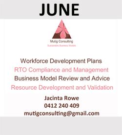 Mutig Consulting are June Sponsors