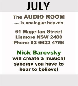 The Audio Room is July Sponsor