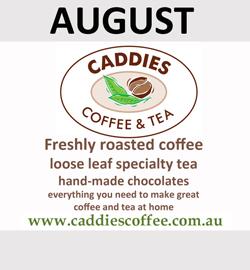 Caddies are August Sponsor