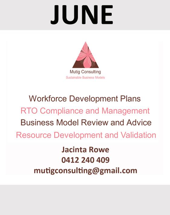 Mutig Consulting sponsor in June